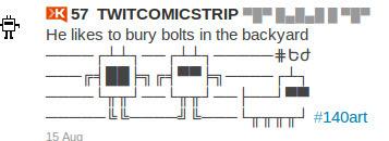 TwitComicStrip | ASCII Art | Scoop.it