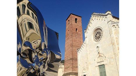 La sculpture de Helidon Xhixha déforme Pietrasanta par Guy Boyer | SCULPTURES | Scoop.it
