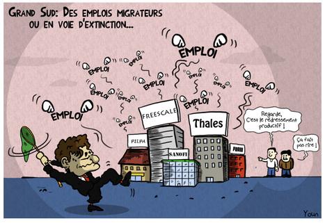 [Dessin de la semaine] A Toulouse, le redressement productif c'est maintenant ? | Toulouse La Ville Rose | Scoop.it