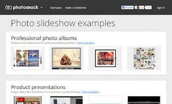 PhotoSnack: Crear y compartir presentaciones de fotos | Educar con las nuevas tecnologías | Scoop.it