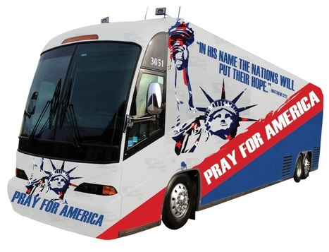 Bus Tour | PRAY FOR AMERICA | From the Fathers Heart | Scoop.it