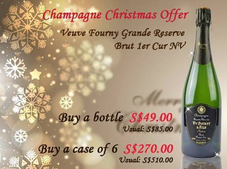 Christmas Champagne Offers at The Oaks Cellars | The Oaks Cellars | Scoop.it