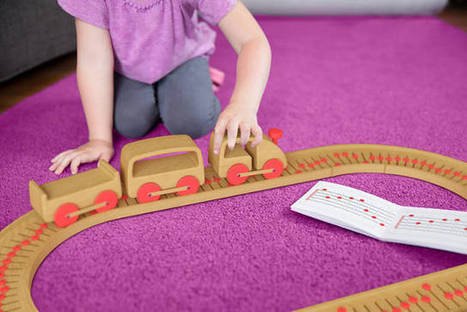 A Wooden Train Set That Lets Kids Compose Tunes | Délicieuses impertinences | Scoop.it