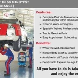 Toyota launches attractive 'Q Service sparkling offers' this festive season - Gaadi.com | Mahindra Cars India | Scoop.it