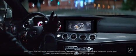 Mercedes challenged over 'Drive Pilot' TV ad | Trust Issues | Scoop.it