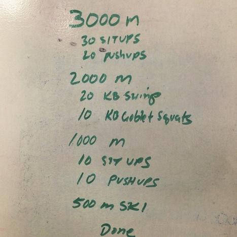 Body  Shop Rowing Workout 3-18-15 | Indoor Rowing | Scoop.it
