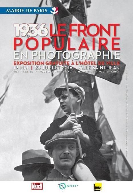 Jusqu'au 23 juillet 2016 :: exposition '1936, le Front Populaire' en photographie (Paris)   TdF     Expositions &  Spectacles   Scoop.it
