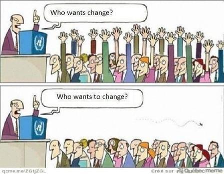 Le blog de l'agence Angie » Blog Archive » Transformation digitale : les manifestations de la résistance au changement | Management et culture digitale | Scoop.it