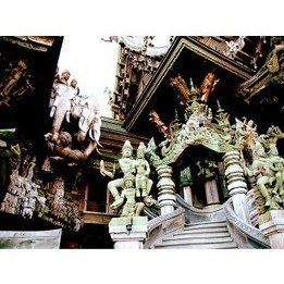 The Sanctuary Of The Truth | Discover amazing Thailand | Scoop.it