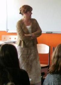 La députée, Isabelle Bruneau à la rencontre des collégiens | Isabelle Bruneau députée | Scoop.it