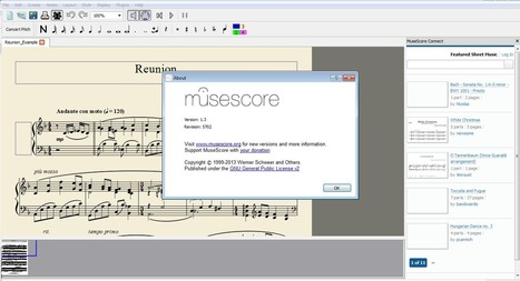 Open Source Can Do: MuseScore Open Software Music Composition | Open Source | Scoop.it