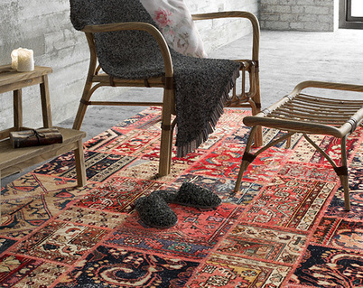 Patchwork carpets inspiration - CarpetVista   Inspiration and decorating with Handmade carpets   Scoop.it