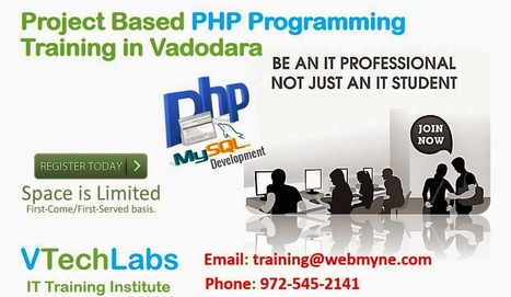 PHP Programming Training Courses For IT Students in Vadodara | VTechLabs | Scoop.it
