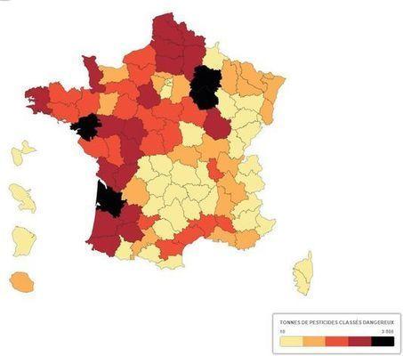 Pesticides: des substances toxiques, invisibles et omniprésentes - Le Monde   Le Fil @gricole   Scoop.it