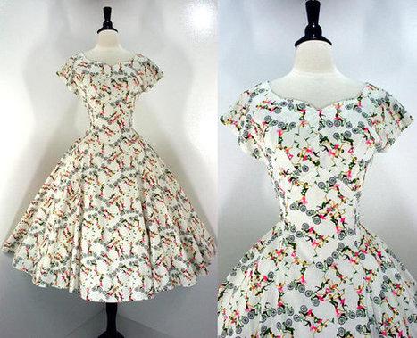 Vintage 50s Dress | Vintage! | Scoop.it
