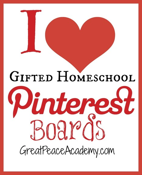 Favorite Pinterest Boards for Homeschooling Gifted Learners   Learning activities for kids   Scoop.it