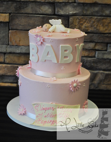 Angel Baby Shower Cake | Custom Cakes for You | Scoop.it