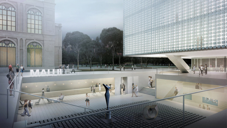 [Museo de Arte de Lima] MDDM studio proposes gridded MALI square museum wing | The Architecture of the City | Scoop.it