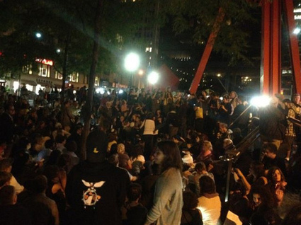 #US, #NY: Thousands at Zuccotti Park Ahead of #OWS's One-year Anniversary - photos | Revolutionary news | Scoop.it