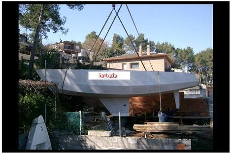 Contrucción amateur de un velero de 10,80 m | velers | Scoop.it