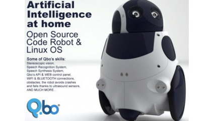 "Qbo, il robot intelligente sarà in vendita dal 18 aprile | Digital.it | L'impresa ""mobile"" 