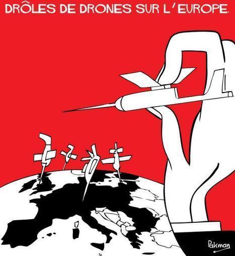 Des drones dans le ciel européen en 2016 ? | Bakchich | Union Européenne, une construction dans la tourmente | Scoop.it