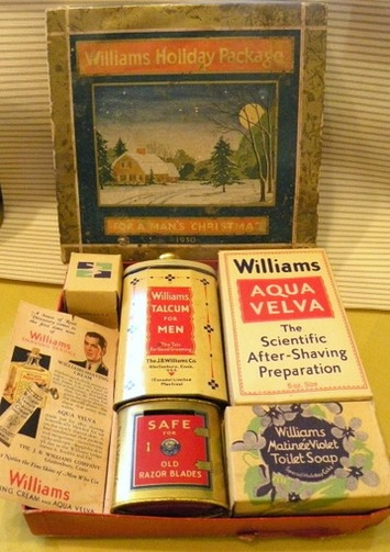 Vintage Shaving Set - The Vintage Village   Antiques & Vintage Collectibles   Scoop.it