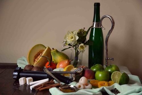 Le photographe saisit la complexité du vin