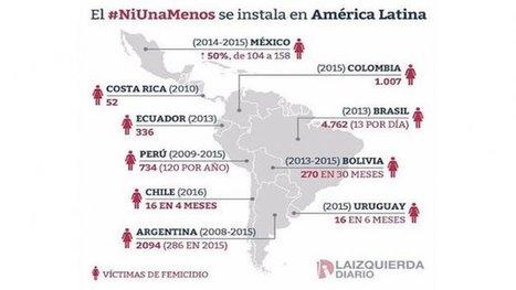 CNA: El #NiUnaMenos se instala en América Latina | La R-Evolución de ARMAK | Scoop.it