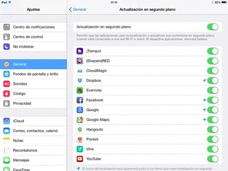 Cómo ahorrar batería en iOS: la guía definitiva | #Apps #Softwares & #Gadgets | Scoop.it
