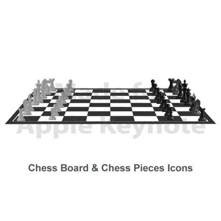 Chess Icons: Editable Apple Keynote Illustrations | Keynote Slide Formatting: Create better looking presentations | Scoop.it