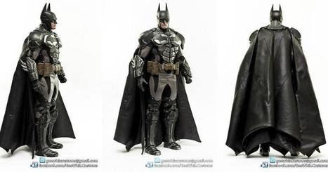 GeeWhiz Uses 3D Printing to Create Life-like Figure of The Dark Knight | 3D Printing and Fabbing | Scoop.it