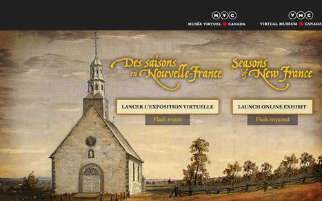 Des saisons en Nouvelle-France | Ressources d'autoformation dans tous les domaines du savoir  : veille AddnB | Scoop.it