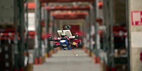 Flylab devient le premier à intégrer le nano-ordinateur Intel Joule à un drone | Post-Sapiens, les êtres technologiques | Scoop.it
