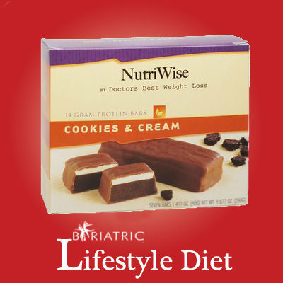 NutriWise - Cookies & Cream Protein Diet Bar | Diet Suppliment | Scoop.it
