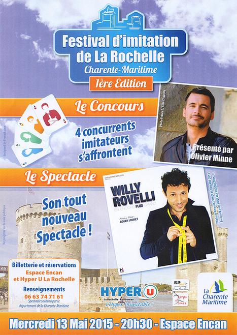Le premier Festival d'Imitation de La Rochelle | Evénements, séminaires & tourisme d'affaires à La Rochelle | Scoop.it
