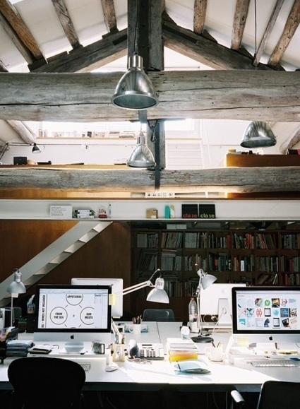 37 Cool Attic Home Office Design Inspirations | Design | News, E-learning, Architecture of the future at news.arcilook.com | Time management | Scoop.it
