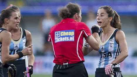 WOMEN Pool B: Argentina grab three points, but are yet to hit top gear | Hockey World Cup 2014 | Scoop.it