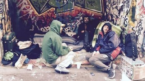 The realities behind the homeless of Hosier Lane (Vic) | Alcohol & other drug issues in the media | Scoop.it