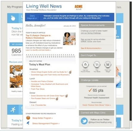 Mayo Clinic to use connected devices in new employee wellness offering | mobihealthnews | Australian e-health | Scoop.it