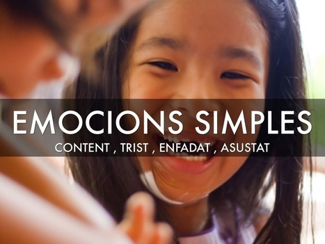 Emocions simples i complexes (material) | mardecoseslogopedia | Scoop.it