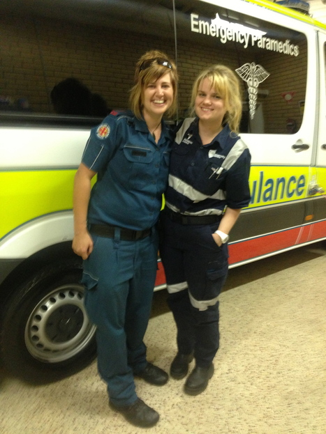 Meet Hope: QAS Advanced Care Paramedic   Quest 2&3: Meet my fellow OH&S friends   Scoop.it
