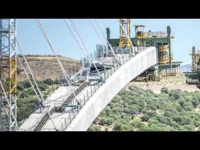 Vídeo: Construcción del puente sobre el río Tajo en el embalse de Alcántara, que se convertirá en el mayor puente arco ferroviario de hormigón ejecutado en España | TECNOLOGÍA_aal66 | Scoop.it