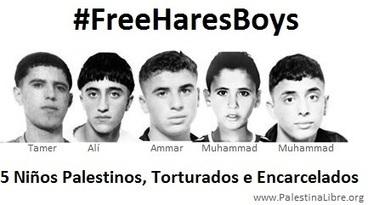 CNA: Los 'niños de Hares', condenados a 15 años de prisión en Israel, son la bandera de libertad palestina | La R-Evolución de ARMAK | Scoop.it