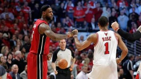 LeBron, Heat on Bulls: We don't like them - Fantasy Sports Punter | fantasysportspunter | Scoop.it