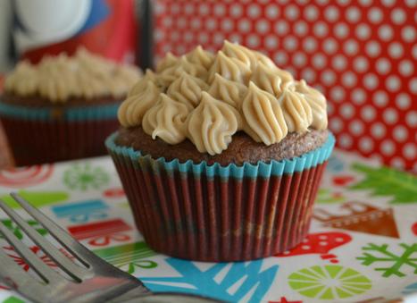 Vegan Mocha Spice Cupcakes with Maple Crème Ganache | My Vegan recipes | Scoop.it