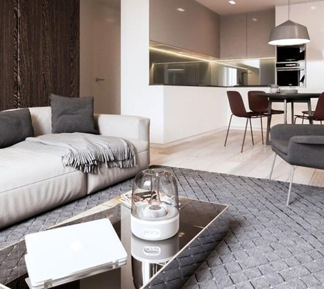 Ένα κατευναστικό διαμέρισμα -όασις σε μια πολυσύχναστη πόλη | Interior Design | Scoop.it