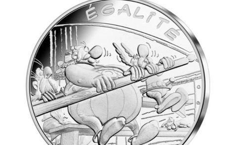PHOTOS – Découvrez les nouvelles pièces de monnaie Astérix | Salvete discipuli | Scoop.it