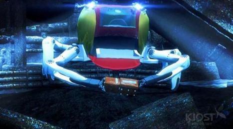 A la découverte d'un monde inconnu : Crabster CR 200, le crabe robotique qui va révolutionner les explorations sous-marines | veille technologique sur la robotique 3A | Scoop.it