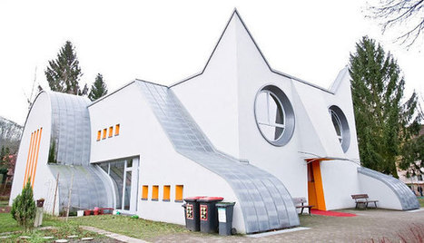 This Feline-shaped Kindergarten Is The Cat's Meow | Love Of Cats | Scoop.it